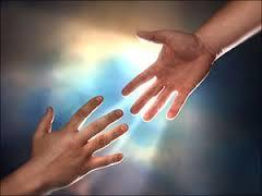 handen reiken